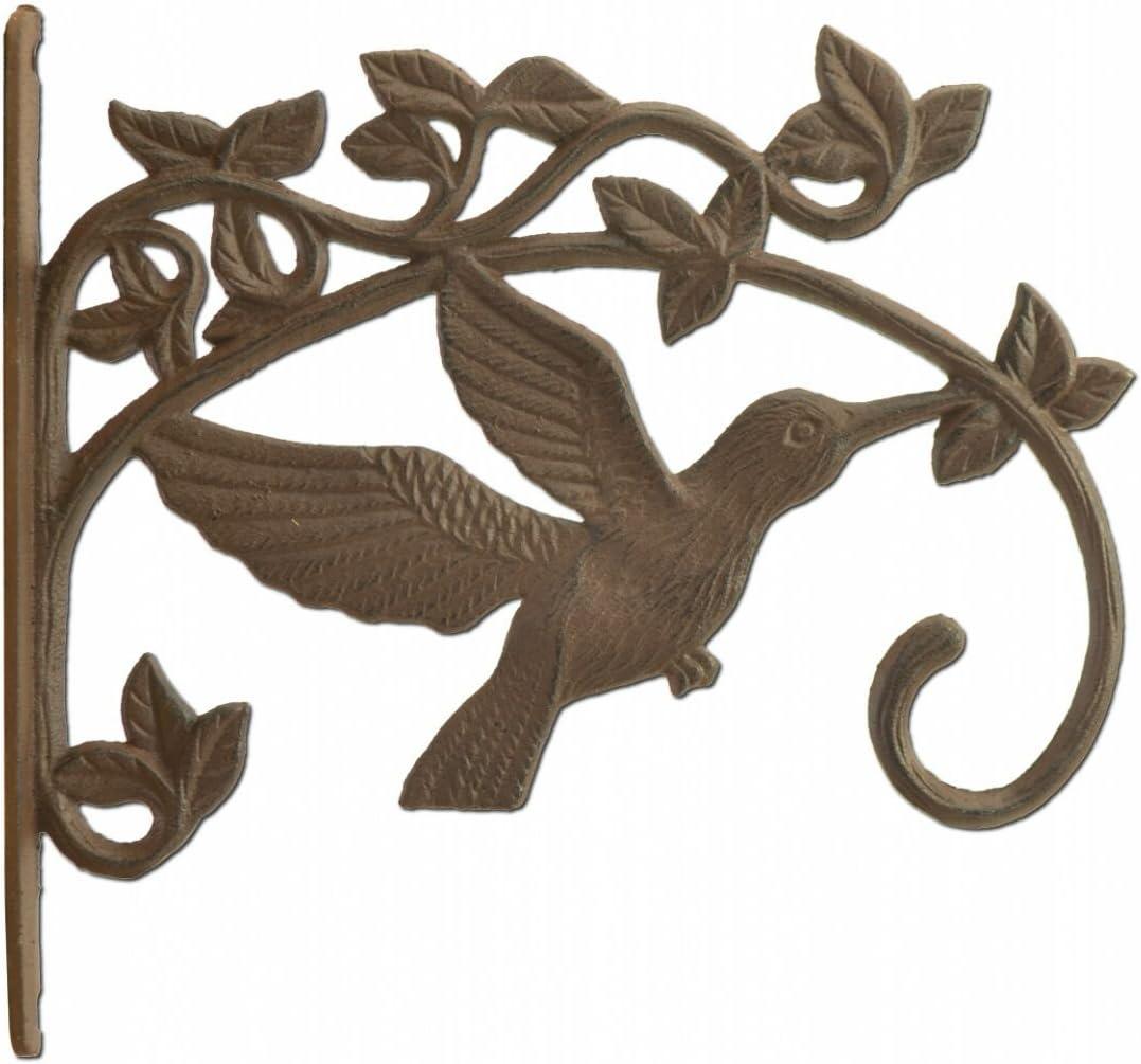 1 Cast Iron HUMMINGBIRD Plant Hanger
