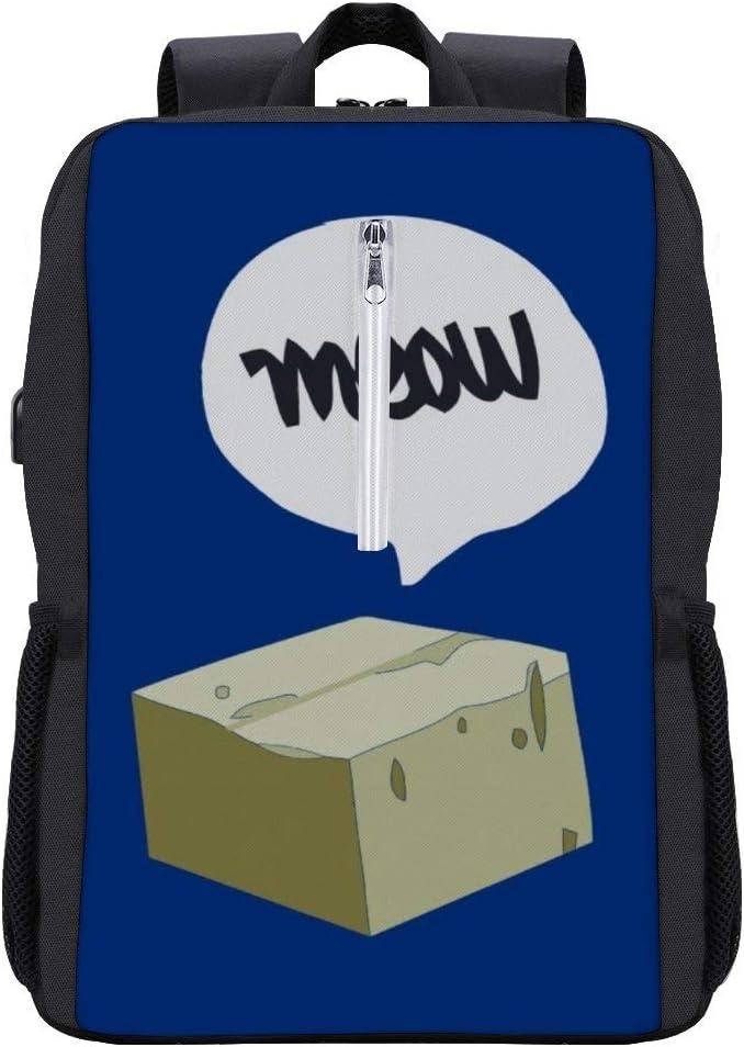 Life is Strange Warrens Shirt Backpack Daypack Bookbag Laptop School Bag with USB Charging Port