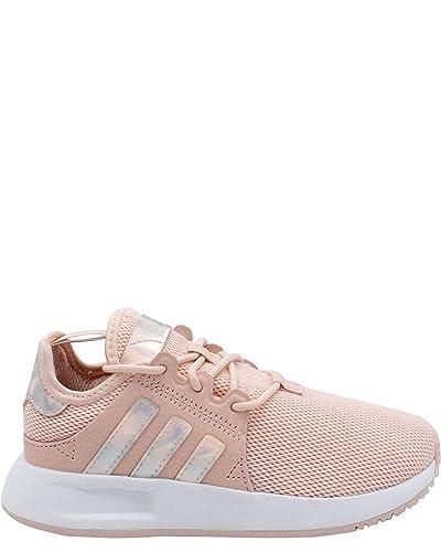 quality design 66394 63f4e adidas Originals Kids Girl s X PLR C (Little Kid) Icey Pink White Black