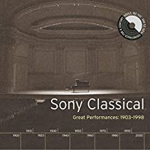 Sony Classical - Great Performances, 1903-1998