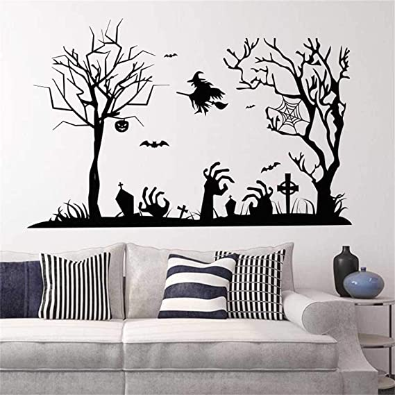 Amazon.com: Kiar - Adhesivo decorativo para pared, diseño de ...