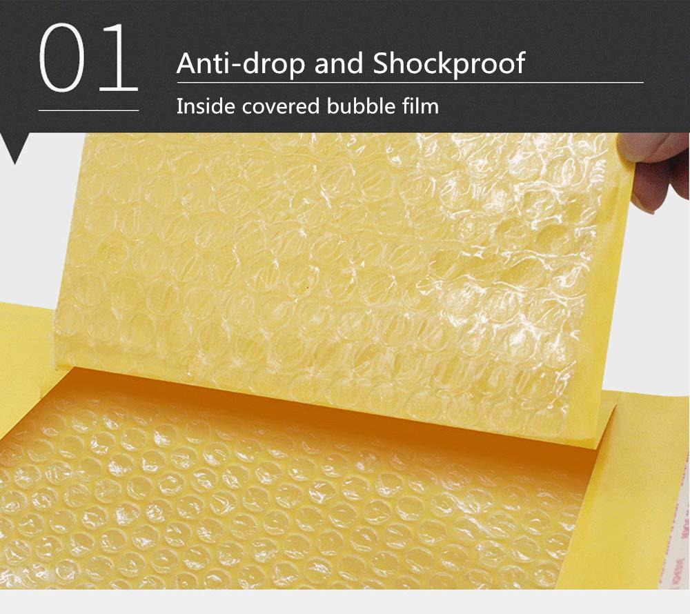 sobre acolchado Starvast 216 x 281 mm color dorado 30 sobres de burbujas