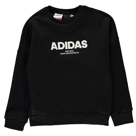adidas Jungen Allcap Crew Langarm Sweatshirt