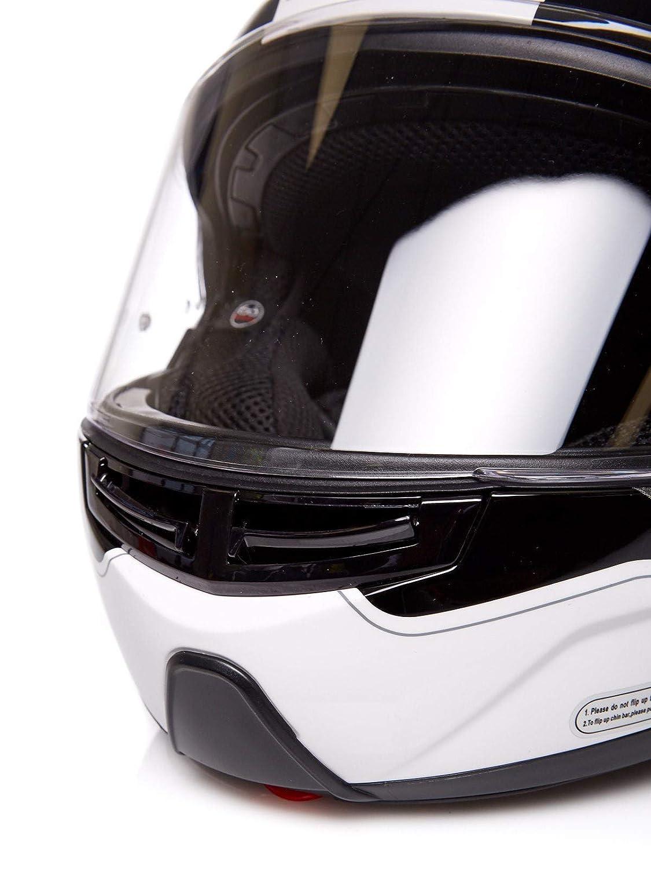 Amazon.es: Casco modular moto LS2 FF325 Strobe Civik Hi-Vis ...