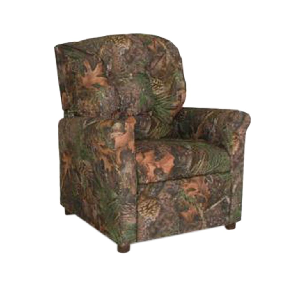 Dozydotes Child Recliner 4 Button Camouflage Green - True Timber DZD9975