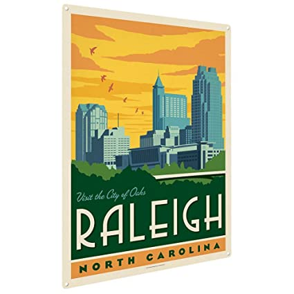 Anderson Design Group Raleigh NC 9quotx12quot Metal Art Print Home Decor