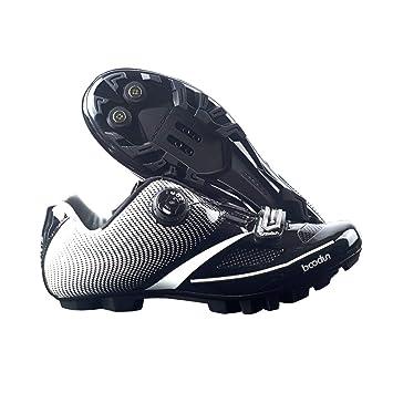 WOSOSYEYO Zapatillas de Ciclismo para Hombre Nuevas 2018, Transpirables, Blandas, Zapatillas Motos para Hombres, autoblocantes: Amazon.es: Deportes y aire ...