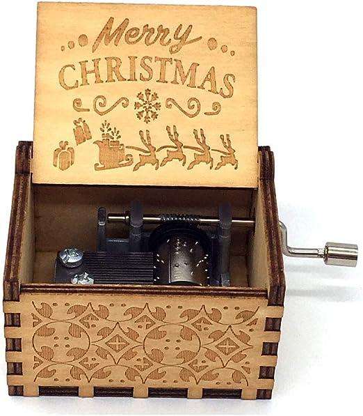 Y&S Star Wars - Caja de música de madera grabada para regalo ...