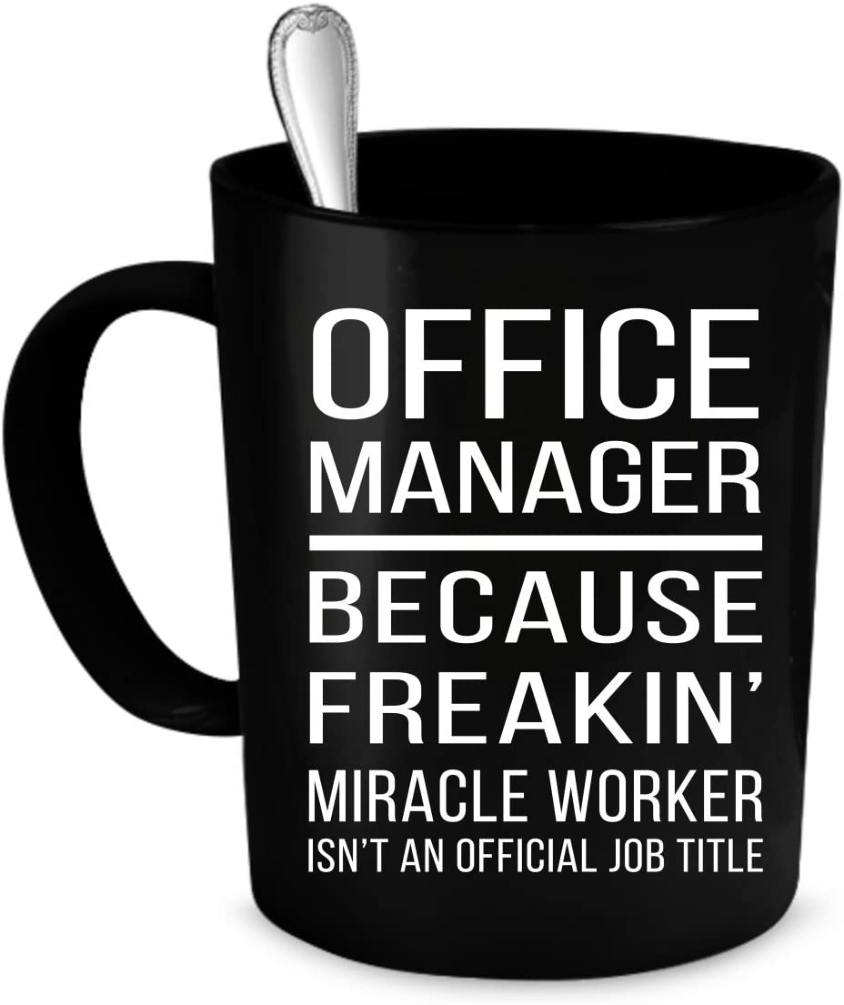 Office Manager Coffee Mug 11 oz.