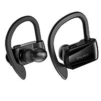 Cuffie senza fili Bluetooth Syllable D15, TWS, cuffie stereo senza fili Bluetooth stereo 5.0, cuffie auricolari con microfono per attività da palestra per iPhone Samsung Huawei IOS Android, iPad e altro