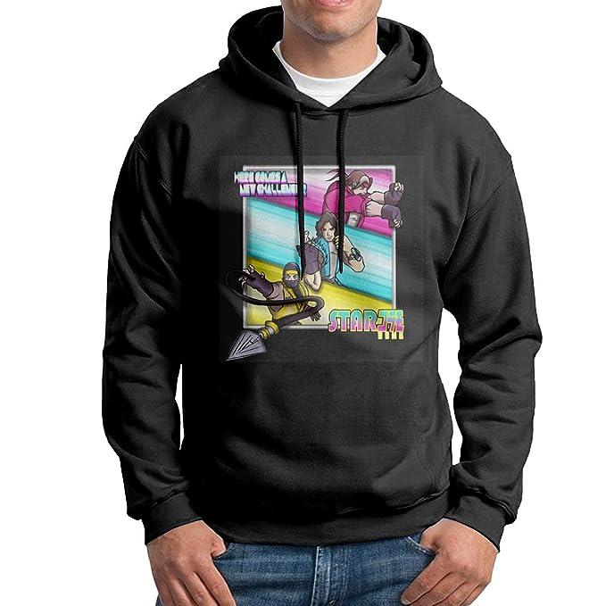 Amazon.com: XINSHOUS Starbomb Ninja Brian Mens Pullover ...