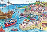 Wentworth At the Harbour 500 Piece Wooden Julia Rigby Jigsaw Puzzle