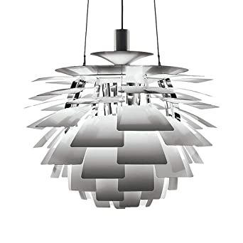 Moderne PH Pendelleuchte Kronleuchter Mode Künstlerisches Design  Deckenleuchten Artischocken Aluminium Material Hängelampe Grau Hängeleuchte  Fü Wohnzimmer