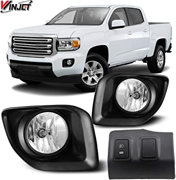 [DIAGRAM_5FD]  Amazon.com: Winjet OEM Series for [2015 2016 2017 2018 2019 2020 GMC Canyon]  Driving Fog Lights + Switch + Wiring Kit: Automotive | 2015 Gmc Canyon Wiring Diagram |  | Amazon.com