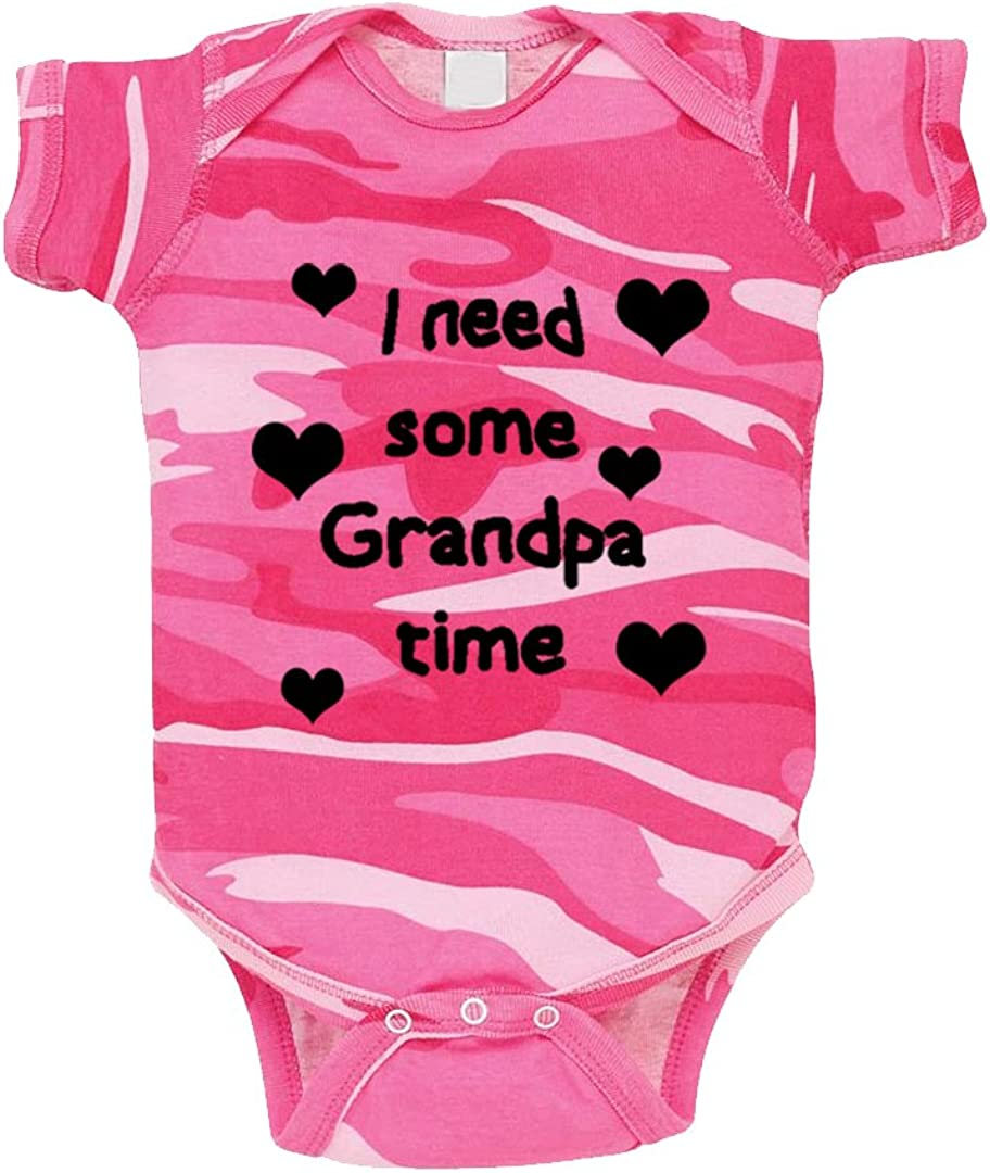 My Grandpa Loves Me Infant Toddler Baby Cotton Bodysuit One Piece