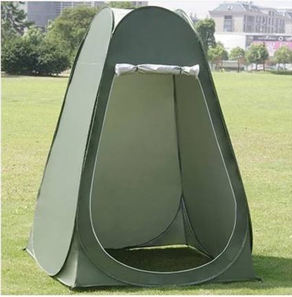 Amazon.com  Faswin Pop Up Pod Toilet Tent Privacy Shelter Tent C&ing Shower Potable Outdoor Changing Room Dark Green  Sports u0026 Outdoors : pop up tent shelter - memphite.com