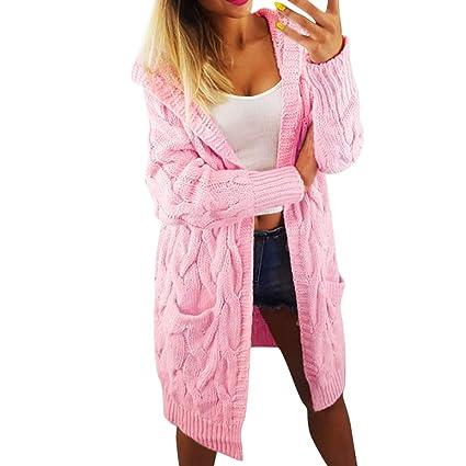 Zipped Jacket mosstars Mujer Chaqueta Abrigo Mujer Chaqueta de punto para mujeres invierno polar pelo