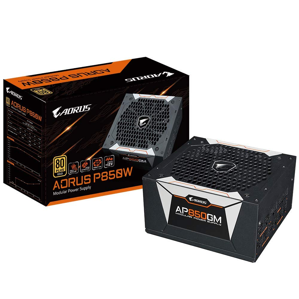 AORUS P850W 80 Plus Gold 850W, Fully Modular, Smart Fan Function, Smart  Power Protection, 10 Year Warranty, Power Supply GP-AP850GM