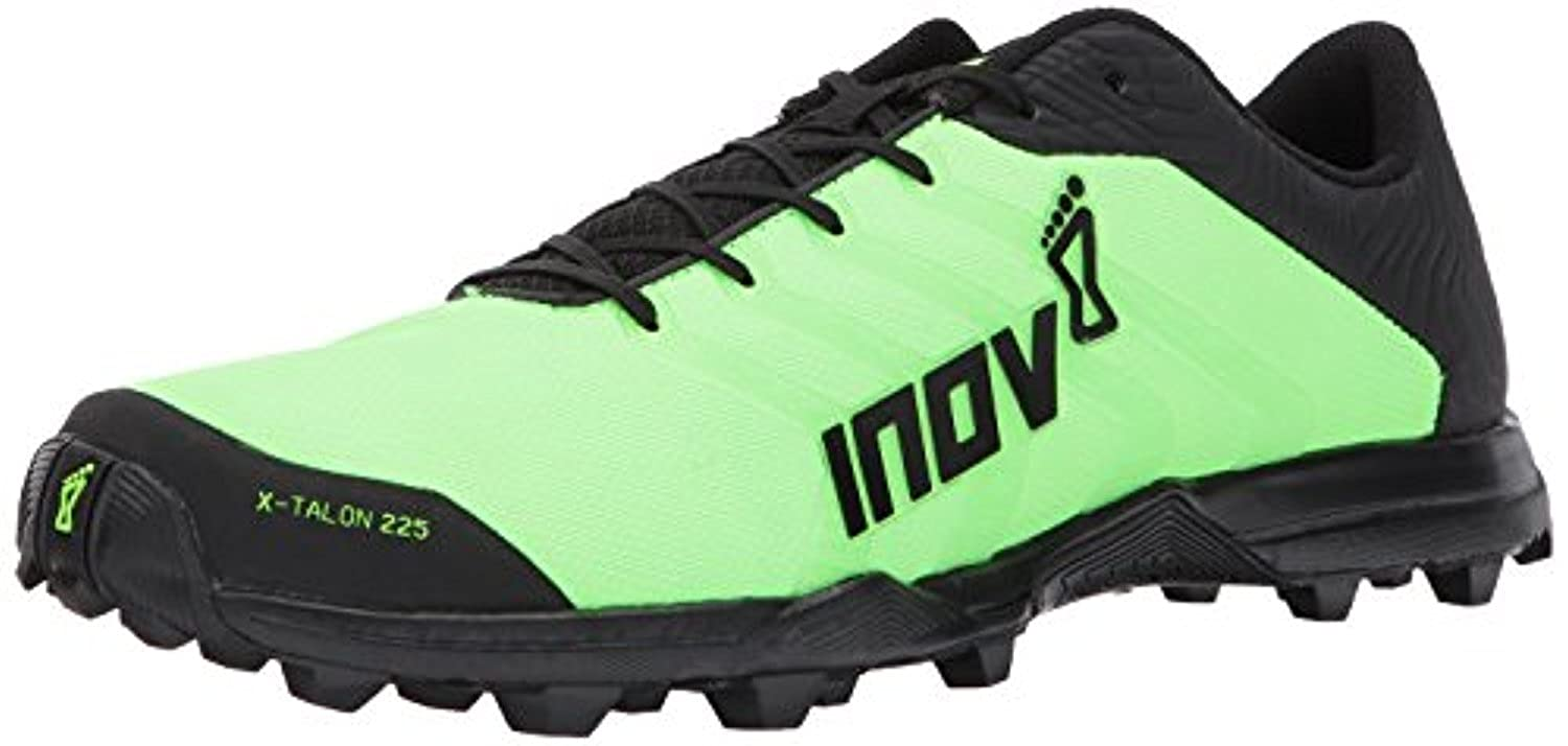 Inov8 Unisex X-Talon 225 Trail Running Shoes & Workout Visor Bundle