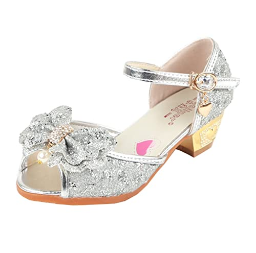 Zapatos de punta abierta formales infantiles OMREYwCJA