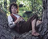 Elijah Wood Autographed Lord of the Rings Photo, as Frodo. Includes Fanexpo Fanexpo Certificate of Authenticity and Proof. Entertainment Autograph Original.