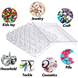 Embroidery Diamond Storage Box, 30PCS Small Clear