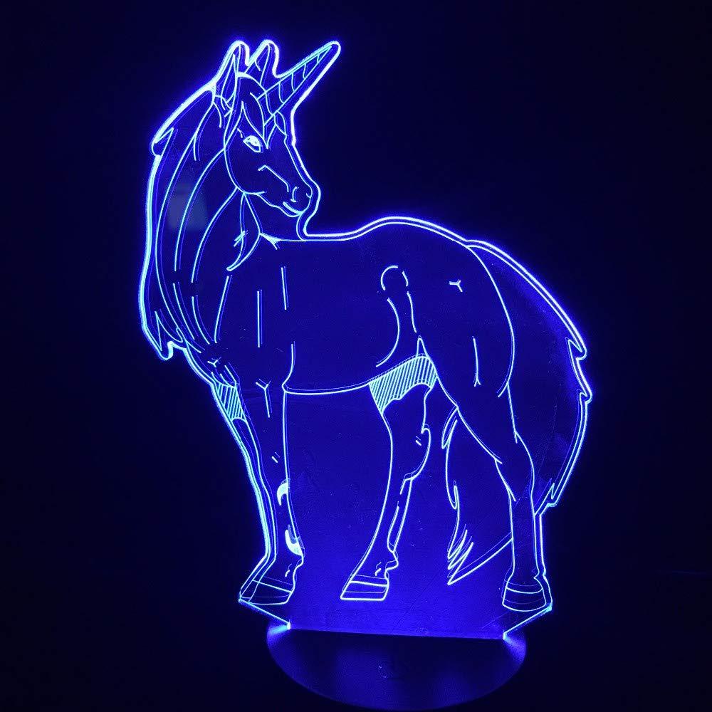 Luz De Noche Lámpara De Mesa Mesa Mesa 3D Interruptor Táctil Led 7 Color Fantasía Patrón Decoración Lámpara Dormitorio Lámpara De Mesa Regalo Niños Pareja Cumpleaños Regalo De Vacaciones Cmkg181295 bdbed0