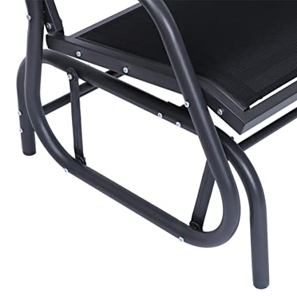 d518bec13ad Image Unavailable. Image not available for. Color  SUPERJARE Outdoor Glider  Chair ...
