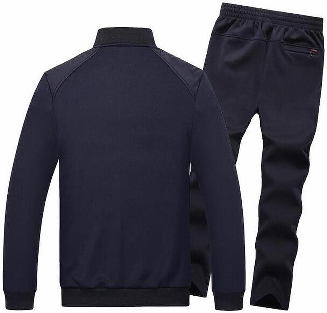 Jmwss QD Mens Casual Running Jackets Elastic Waist Sports Pants Tracksuits