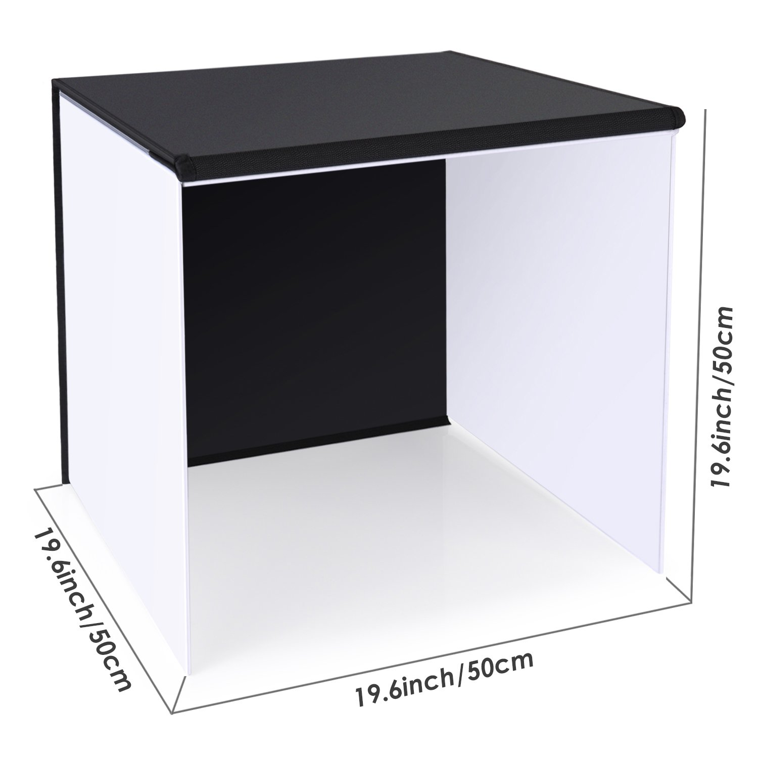 Neewer 20''x20''/50x50cm Table Top Photo Photography Light Tent Studio Square Light Box with 4 Backgrounds by Neewer (Image #5)