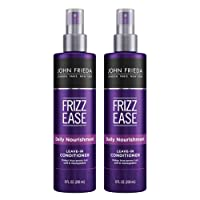 Deals on 2-Pack John Frieda Frizz Ease Daily Nourishment Conditioner 8oz