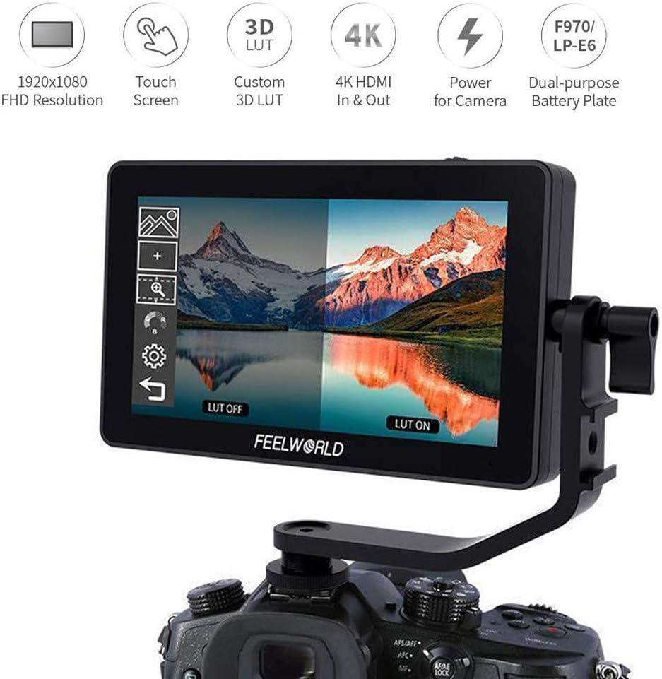 Red Solovley Video Lighting for ZOMEI Vlogger Handheld RGB Led Video Light 2500K-8500K Bi-Color On Camera Studio Light with CRI 96