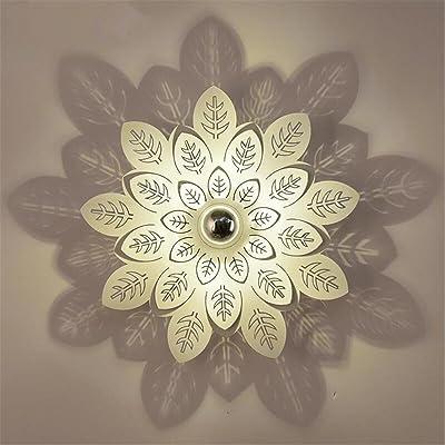 Pétale Lampe Moderne Murale Ombre Mur Creative Fer Lumière Led eH2YWEDI9