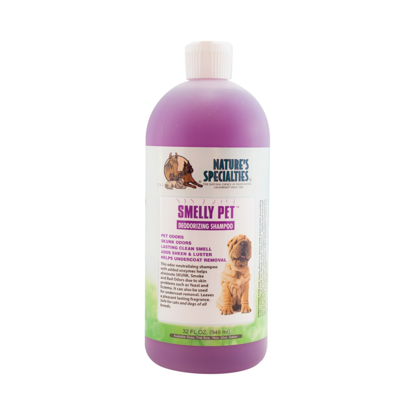 Nature's Specialties Smelly Pet Shampoo, 32-Ounce by NATURE'S SPECIALITIES