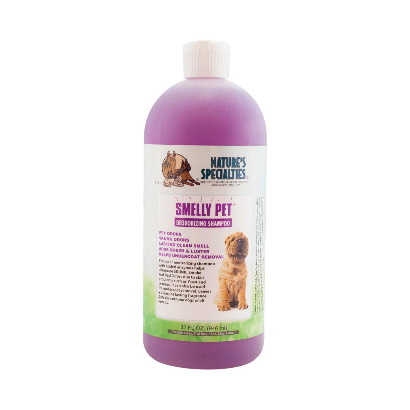 Nature's Specialties Smelly Pet Shampoo, 32-Ounce