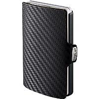 I-CLIP Original Black Carbon Black, Plånbok, portmonnä, kreditkortshållare, wallet