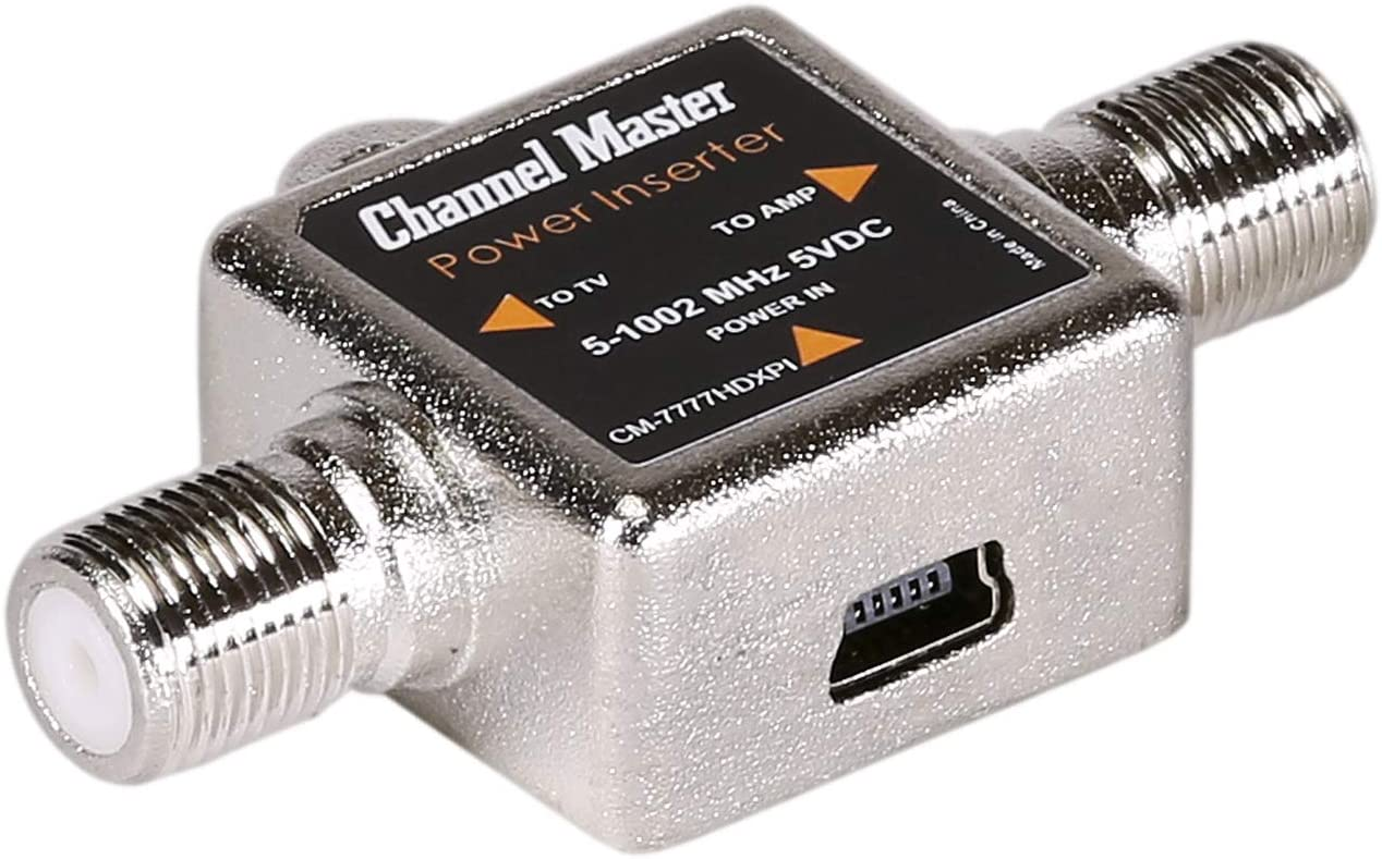 Channel Master CM-7776 MicroAmp Indoor TV Antenna Amplifier RF Signal Booster