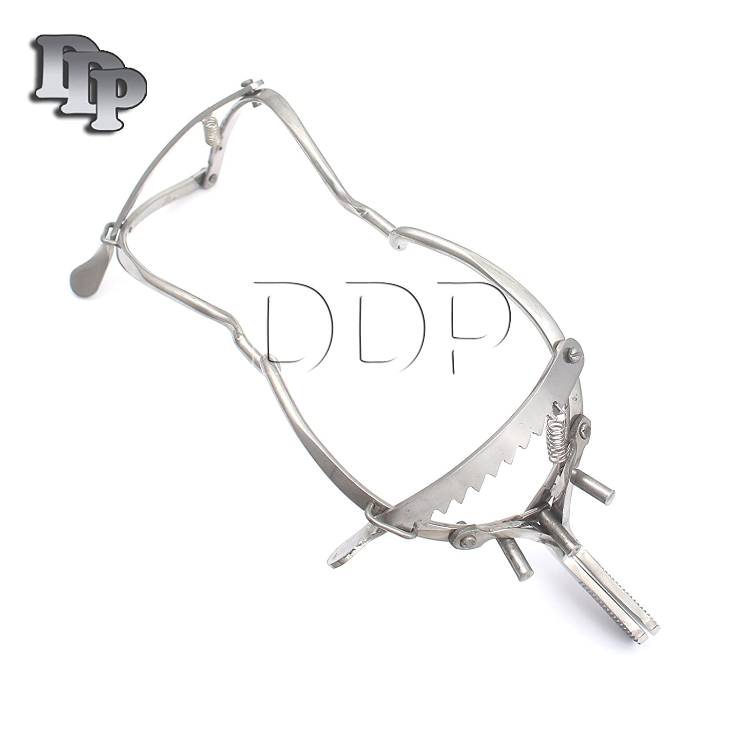 "DDP 4.5"" WHITEHEAD DENTAL MOUTH IMMOBILIZER GAG STAINLESS STEEL"