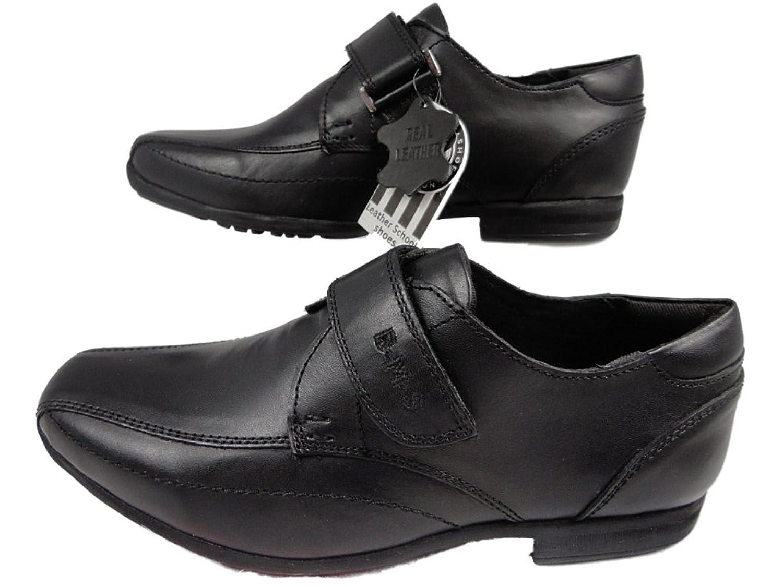 Boucle Mon Shoebarnes / Rush - Chaussures Uniformes Scolaires Pour Les Garçons, Couleur Noire, Taille 33 Eu
