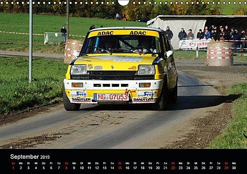 Amazon.com : Asphalt und Schotter Rallye - Rallyefahrzeuge auf Schotter und Asphalt (Wall Calendar 2019, 14 Pages, Size DIN A3=11.7 x 16.5 inches) ...