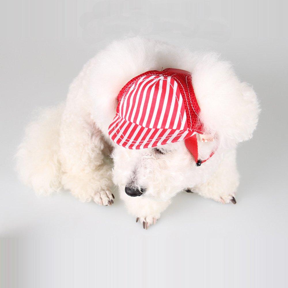 0854cc41b MYIDEA Dog Sun Hat, Jeans Adjustable Pet Dog Sport Baseball Outdoor ...