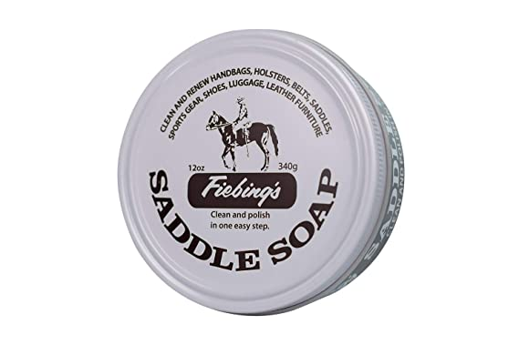 Fiebings Saddle Soap White Polish Cleans Leather Renew ...