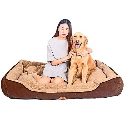 Cojín de cama de perro caliente para mascotas Camas Premium para perros de peluche Camas para