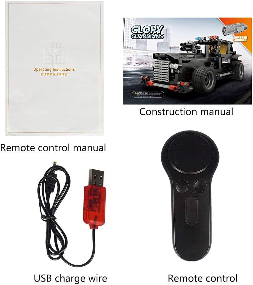 sumicorp.com RC Auto 4CH Fernbedienung Elektrische Polizei Befehl ...