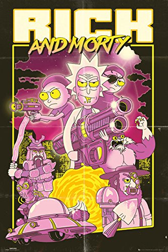 Rick And Morty - TV Show Poster / Print (Action Movie) (Size: 24