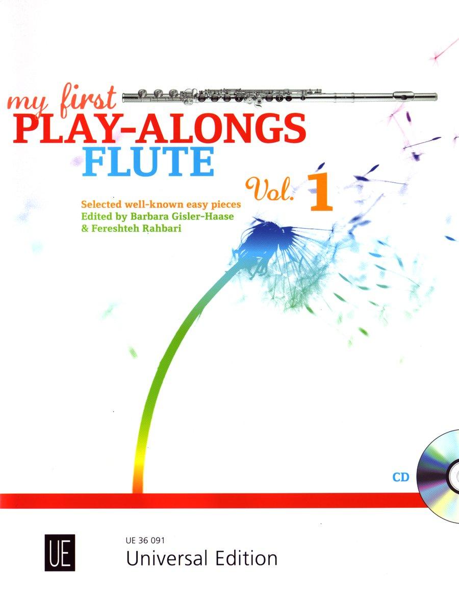 My First Play-Alongs für Flöte und CD oder Klavierbegleitung: Ausgewählte bekannte Stücke aus Mini Magic Flute 1