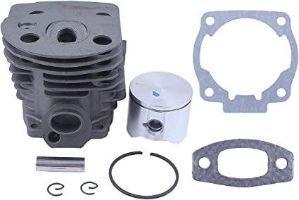 Cylinder Muffler Piston Bolts Rebuild Kit For HUSQVARNA//50//51//55//Chainsaw Parts
