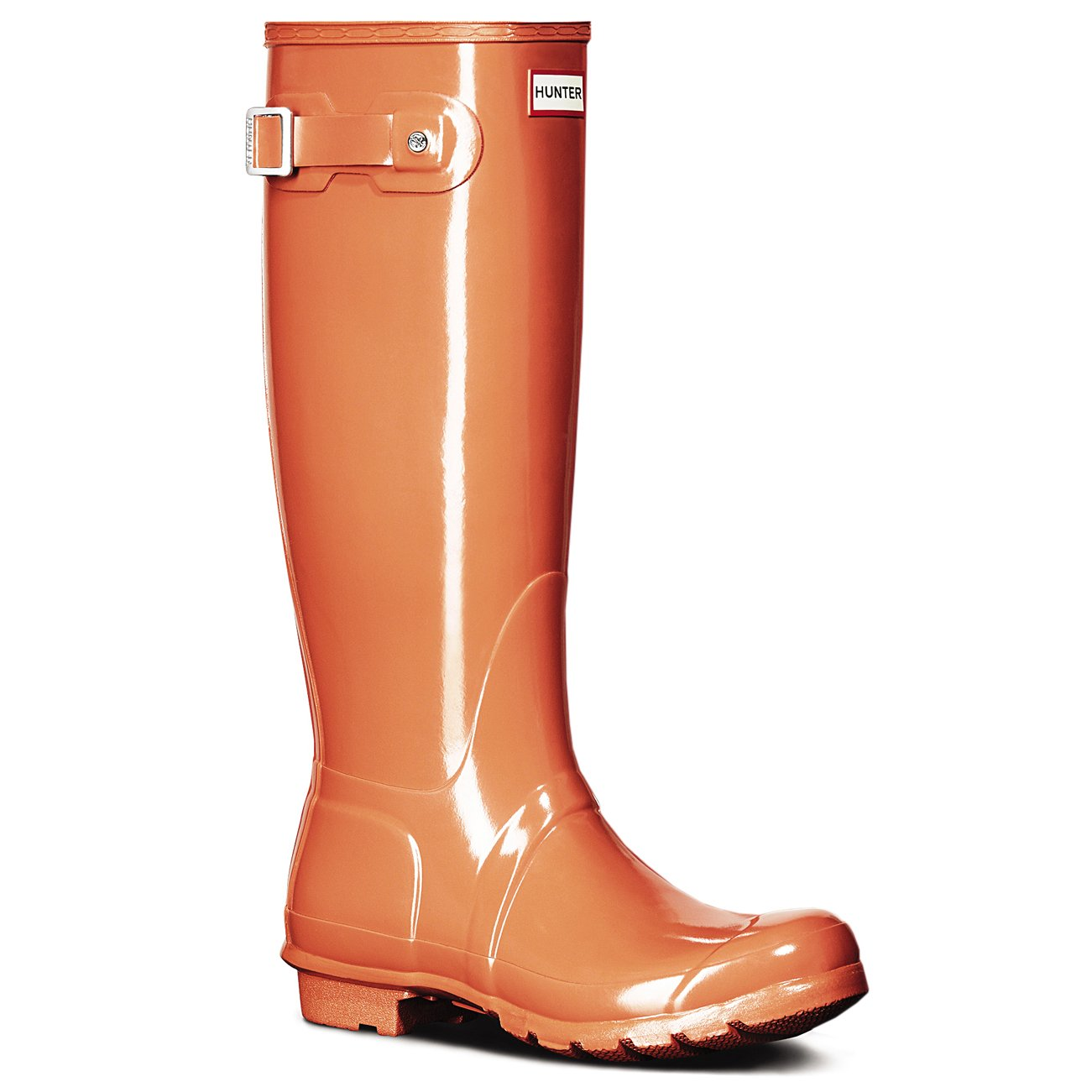 Hunter Original Tall Gloss, Botas de Estar por Casa para Mujer 42 EU
