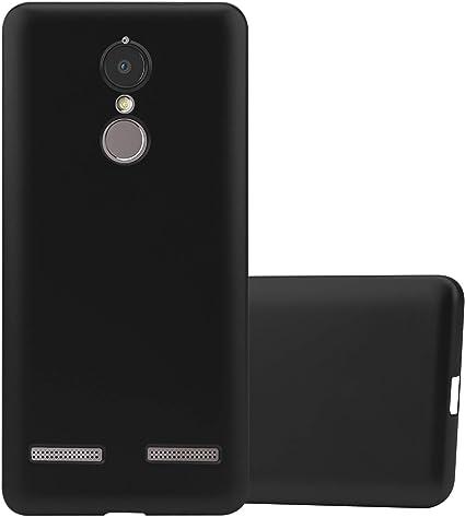 Cadorabo Funda para Lenovo K6 / K6 Power en Metallic Negro: Amazon.es: Electrónica