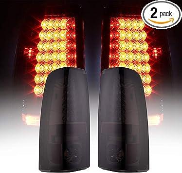 2003-2006 Chevy Silverado 1500 Smoked Tail Brake Lights Parking Light Headlamps